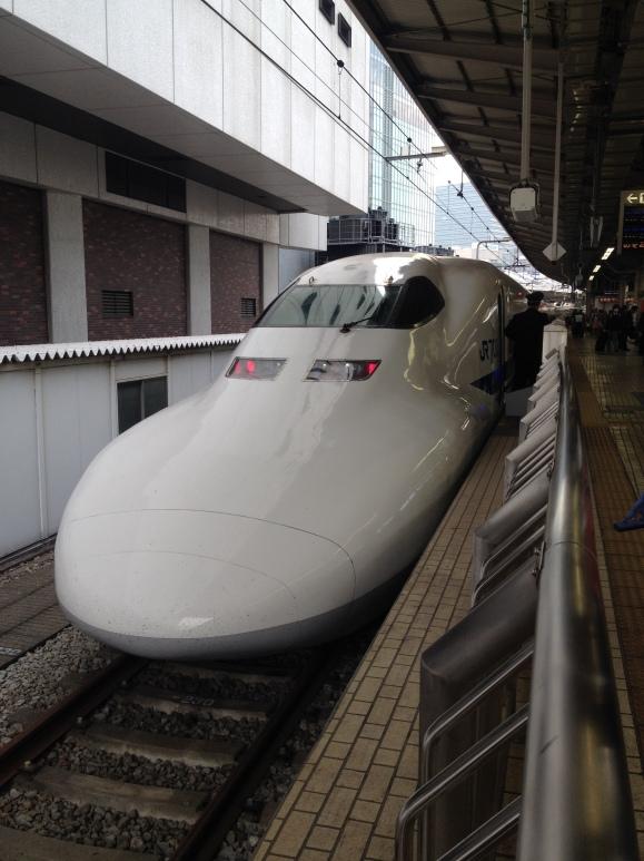 Shinkansen to Osaka