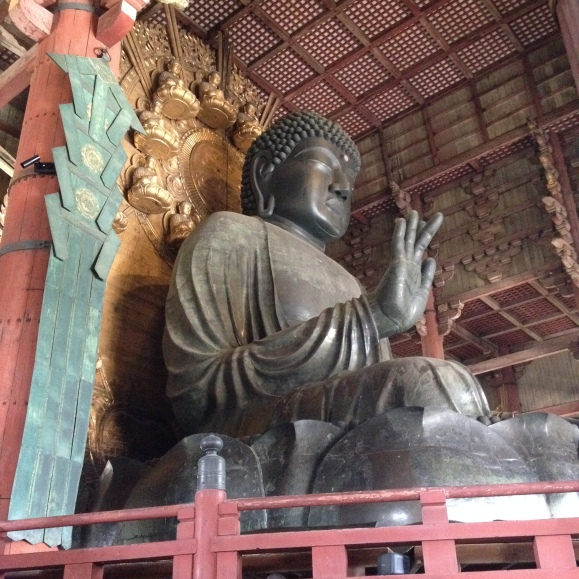 Nara Daibutsu, or the Big Buddha.