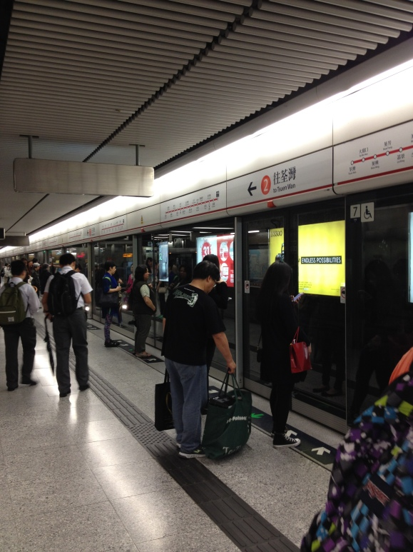 Double doors prevent people from jumping/falling into the tracks. American subway systems can learn a thing or two from Asia's subway systems.