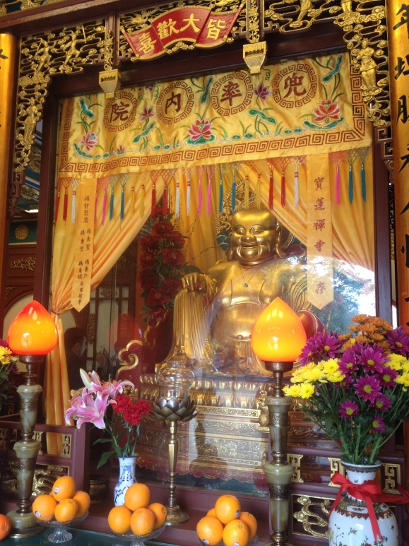 Inside the Po Lin Monastery