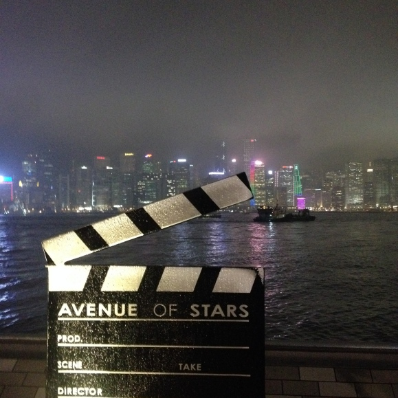 Avenue of Stars! We found the promenade!